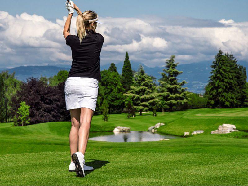Evian-International women Golf Championship