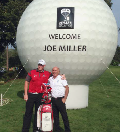 Le britannique Joe Miller, premier champion européen du REMAX Long Drive (414 yards) en 2010