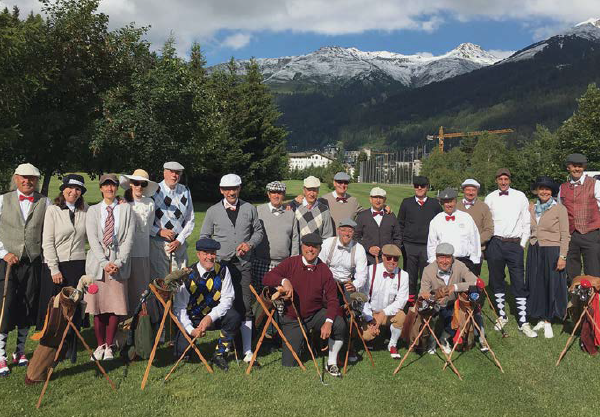 Swiss Hickory golf, une véritable passion !