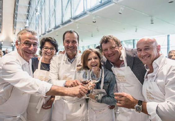 Pierrot Ayer, Président des GTS s'est réjoui de ce succès qui a réuni 13 chefs étoilés