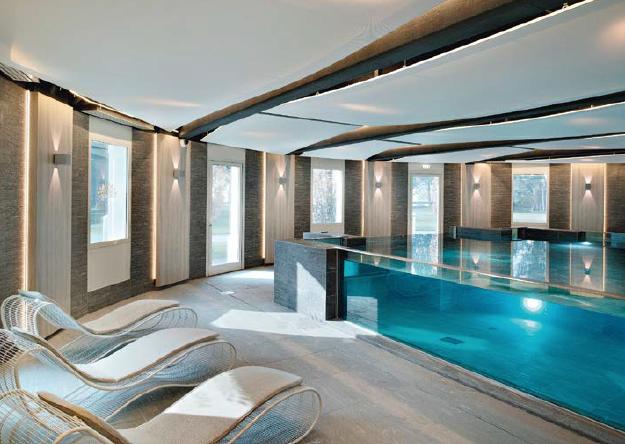 Cristal Spa Imperial Palace, Annecy et son nouveau spa de plus de 600 m2