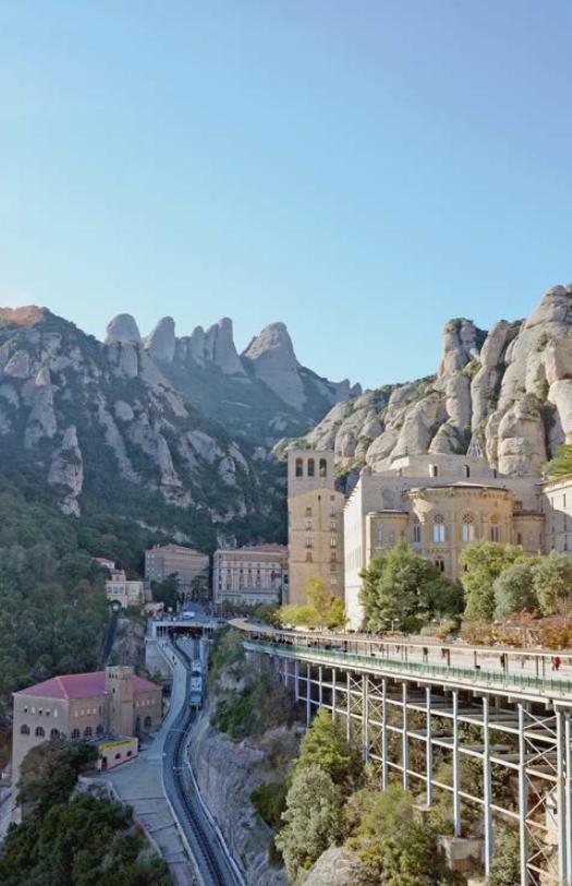 'abbaye S. Maria de Montserrat est une abbaye bénédictine autonome.