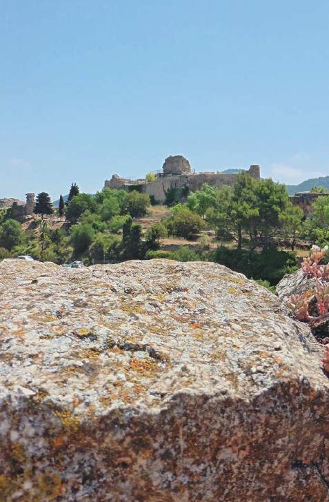 Du château de Siurana, il ne reste que des ruines.